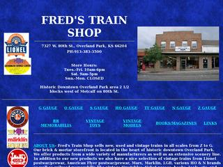 Fred's Train Shop of Kansas City