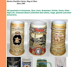 Mark's Collectible Beer Steins & Mugs